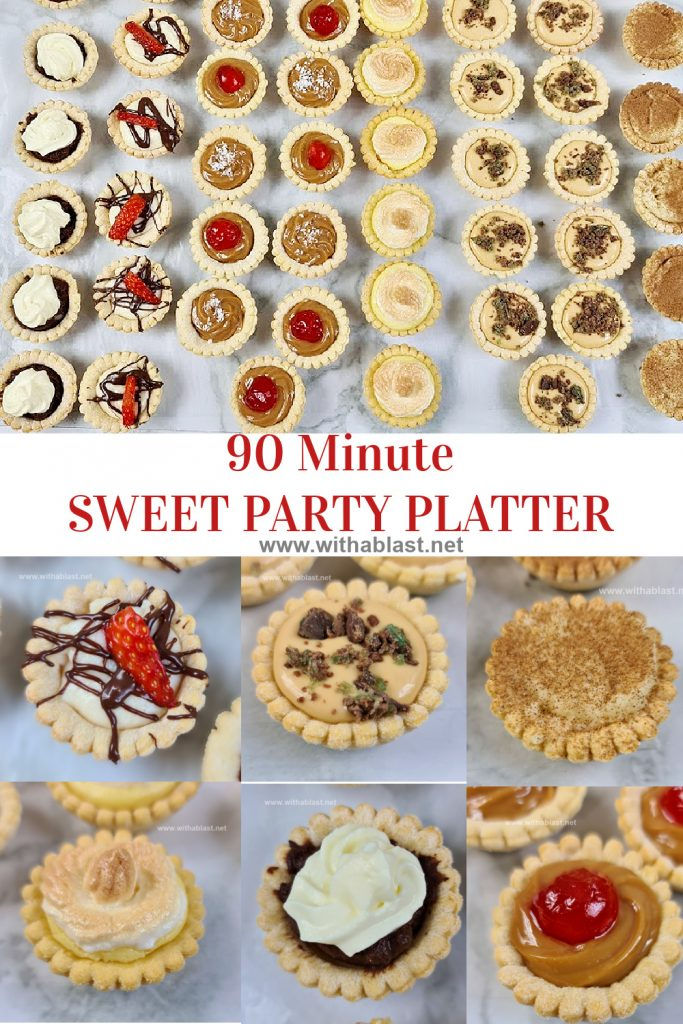 90 Minute Sweet Party Platter