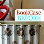 Wallpaper-Fabric Painted Craft Storage