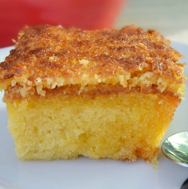 Coconut Honey Cake With A Blast