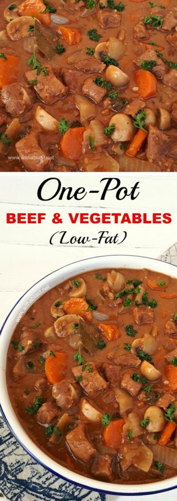 Low-Fat Beef and Vegetables One Pot