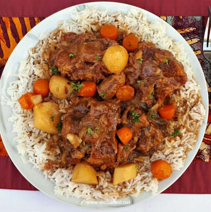 Oxtail Slow Cooker With A Blast