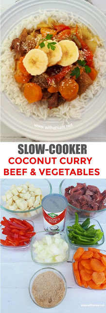 Love a good curry ! Check out this easy, dump and go Slow-Cooker recipe !