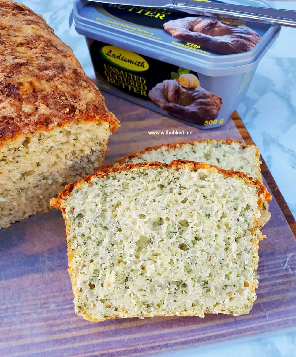 Herb And Cheese Bread (Mix-N-Bake)