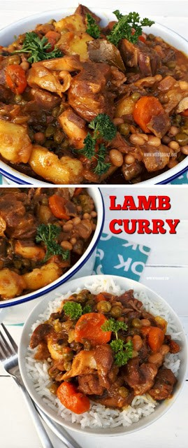 Rich, tasty Comfort food ! Fall-off-the-bone tender Lamb Curry