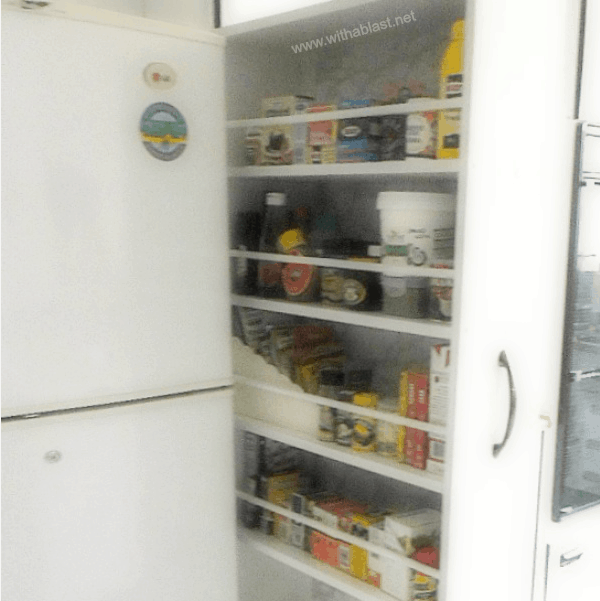 Sliding Pantry (DIY)