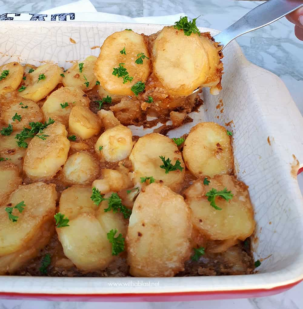 Brown Onion Potatoes