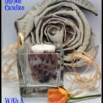 Potpourri Dipped Candles