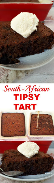 Rich, sweet and sticky delicious Tipsy Tart !