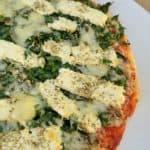 Feta & Spinach Pizza