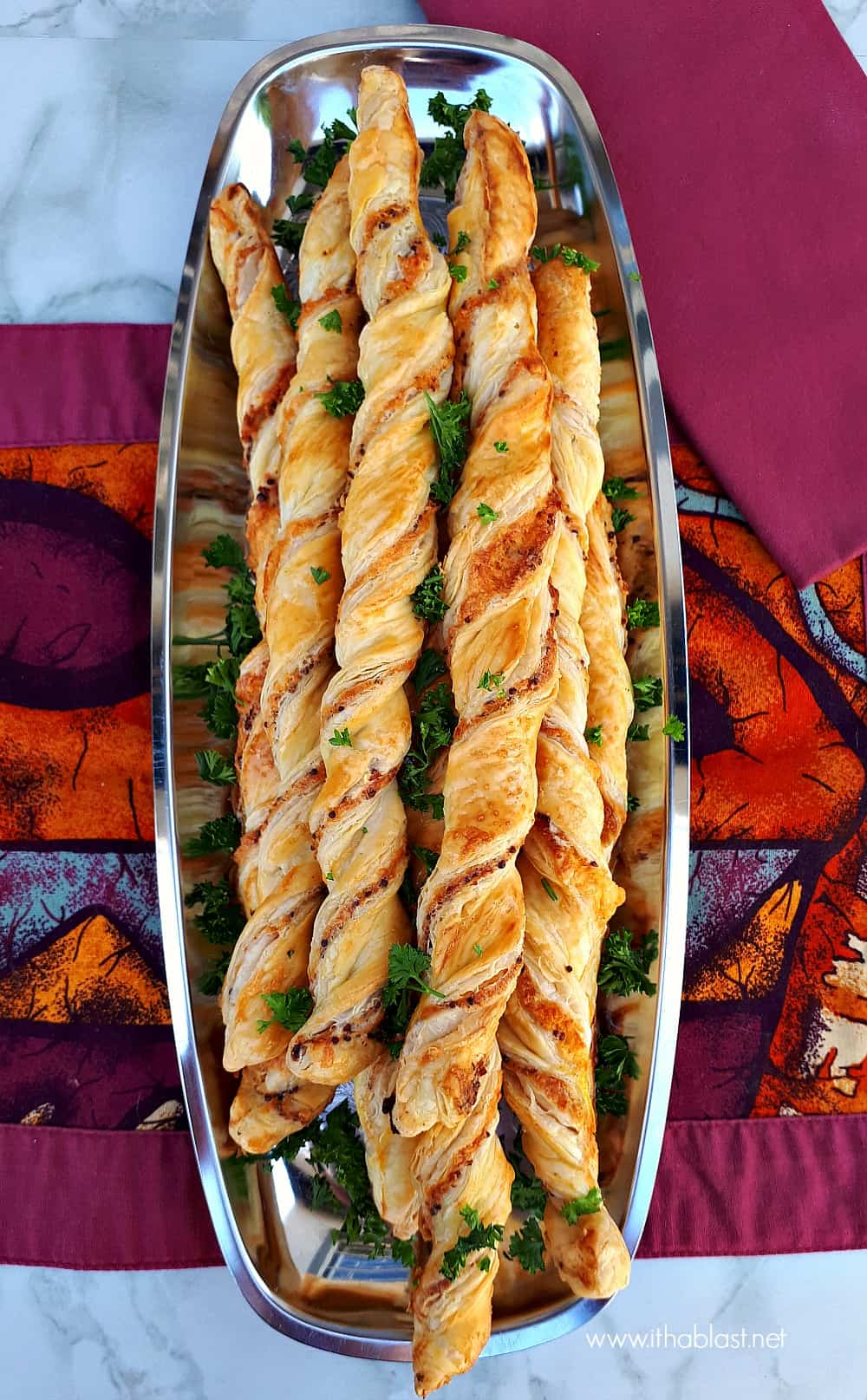 The most basic, easiest and quickest recipe for Cheese and Mustard Straws - always a winner at parties and family / friends gatherings !