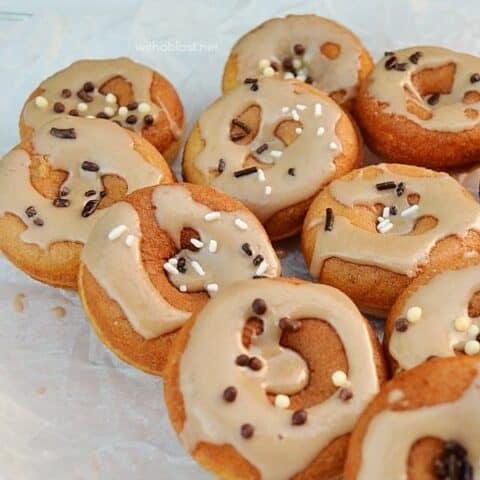 Caramel Mini Donuts