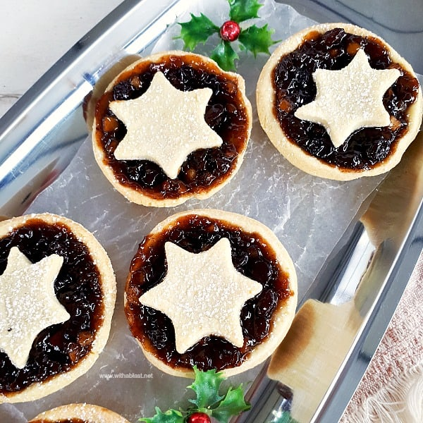 Christmas Fruit Mincemeat Pies