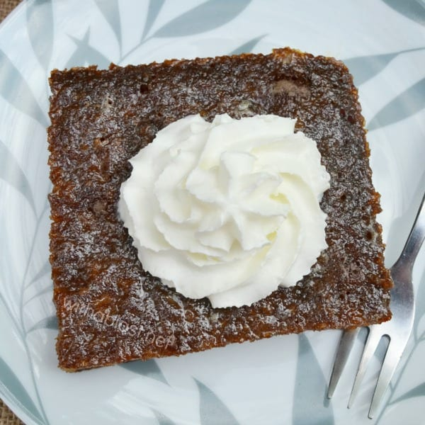 Malva Pudding is a traditional South-African, sticky, sweet, divine dessert and unbelievably easy to make using all standard pantry ingredients.