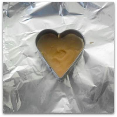Message Chocolate Hearts - base