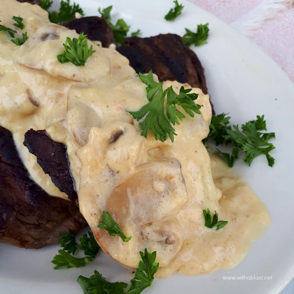 Mushroom Sauce for Steak