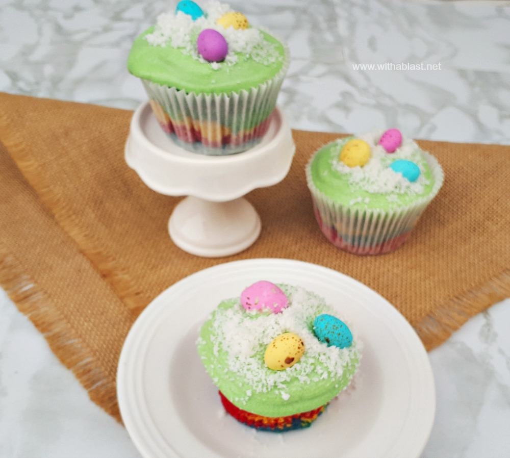 Easter Egg Cucakes