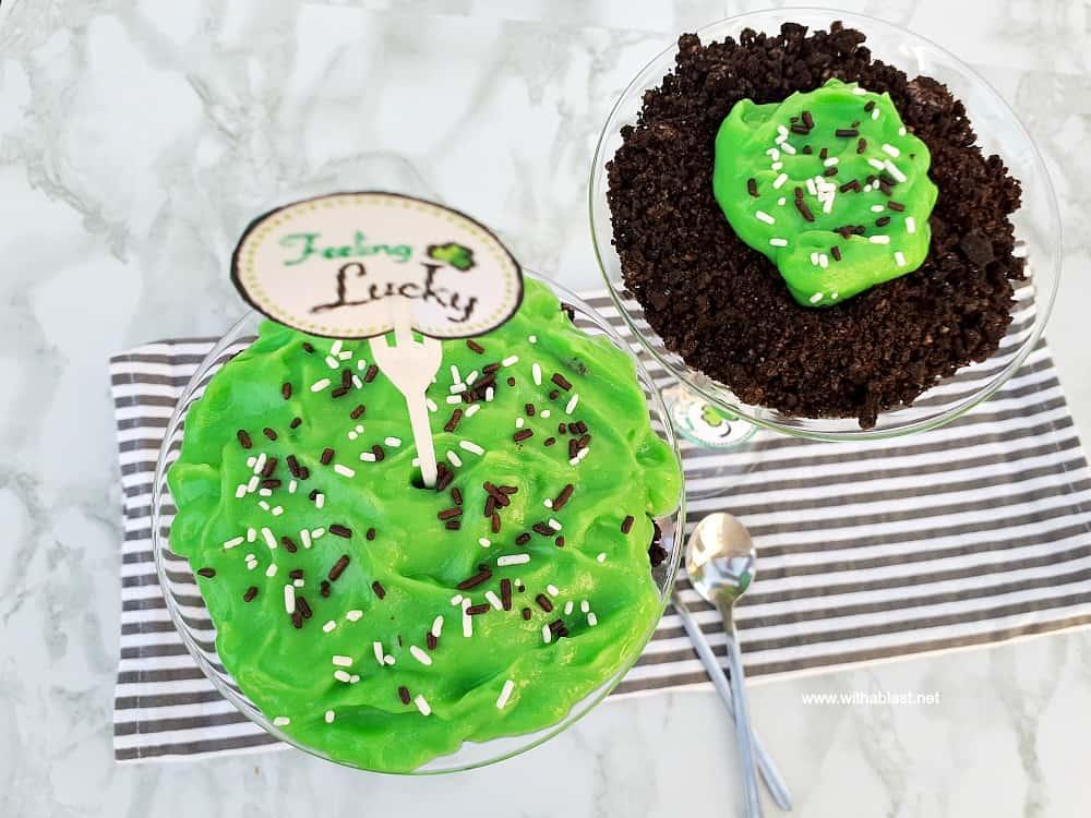Irish Dirt Pudding