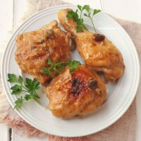 Sticky Raisin Chicken