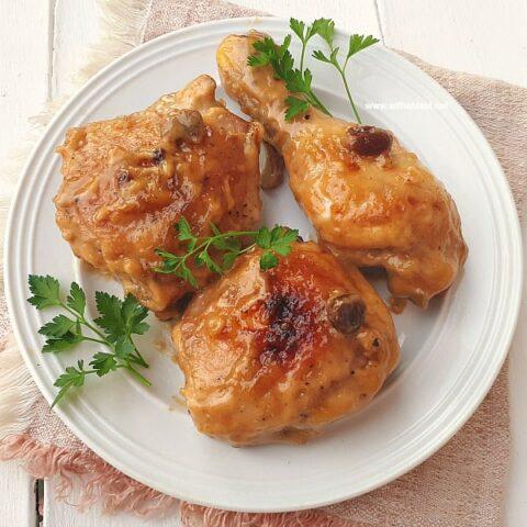 Sticky Raisin Chicken