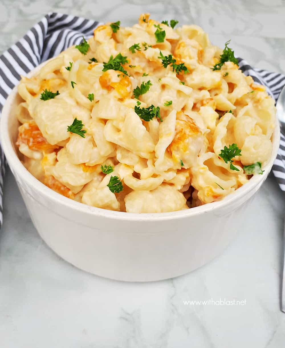 This Cheesy Haddock Pasta is a delicious comforting dish, pasta and fish hugged in a creamy cheese sauce and ready in under 30 minutes !