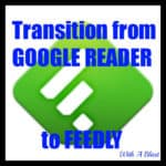 Google READER to FEEDLY {an option}