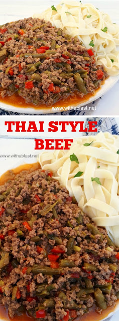 My family loves this quick Thai Style Beef (ready in under 30 minutes)
