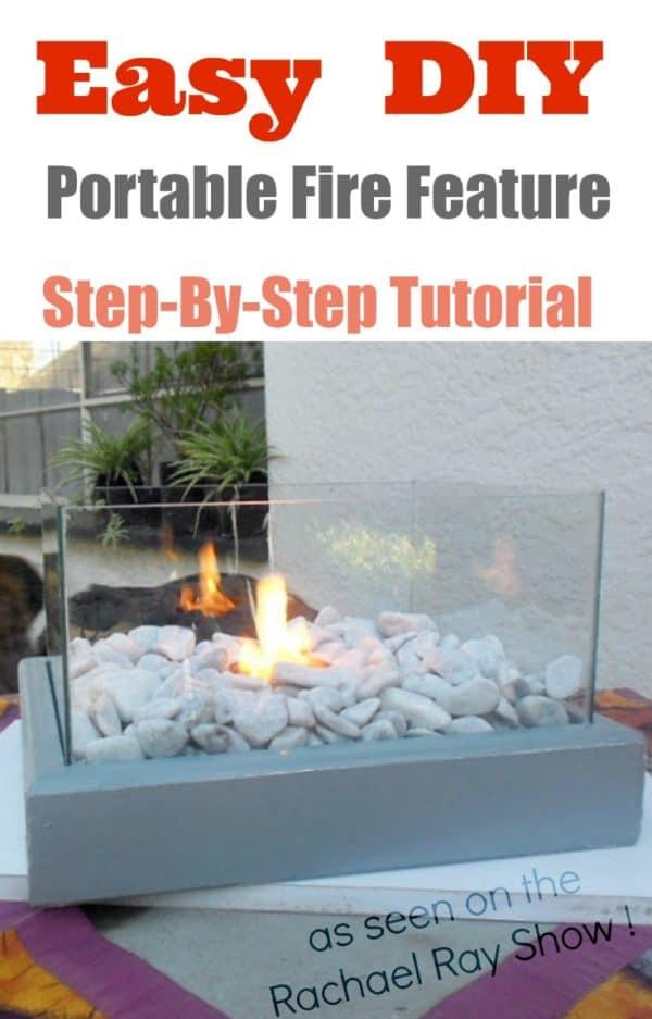 Diy Portable Fire Feature