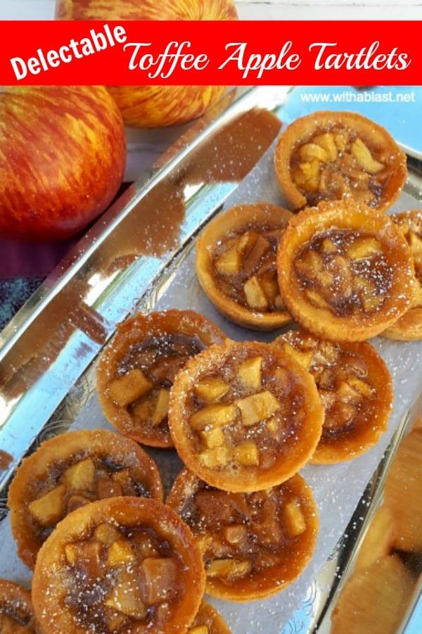 Toffee Apple Tartlets