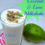 Coconut Lime Milkshake