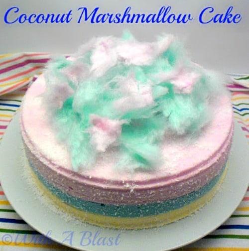 Coconut Marshmallow Cake