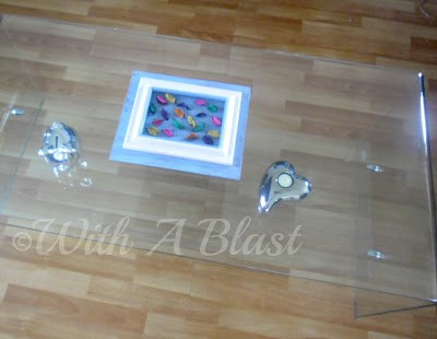 With A Blast: Framed Potpourri Centerpiece   #diy  #crafts