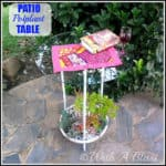 Patio Potplant Table