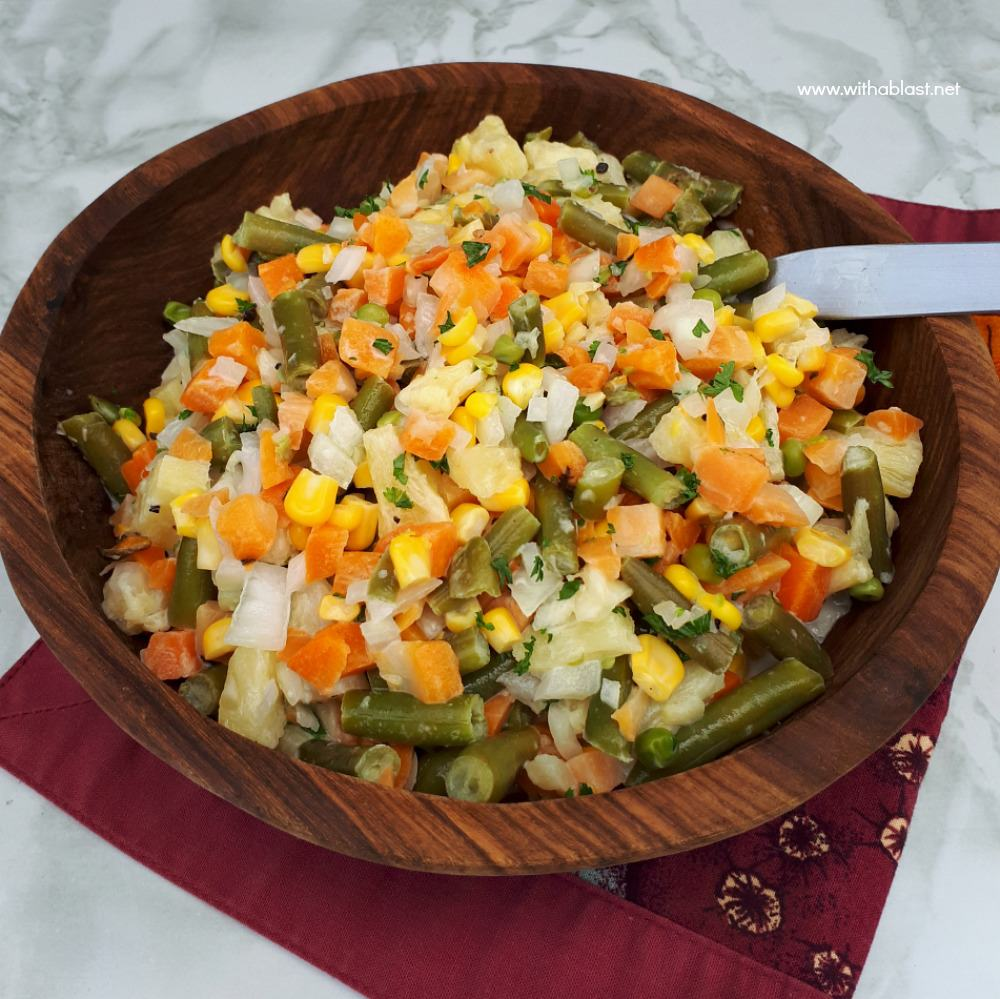 Tropical Vegetable Salad
