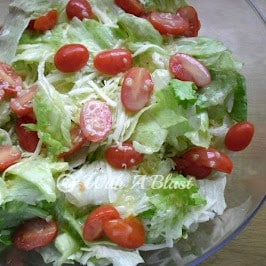 Crispy Provolone Salad