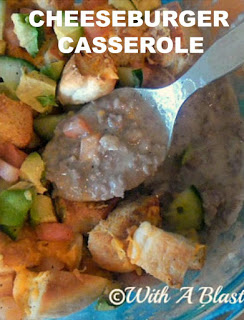 Comfort food at it's best in this family favorite Cheeseburger Casserole !