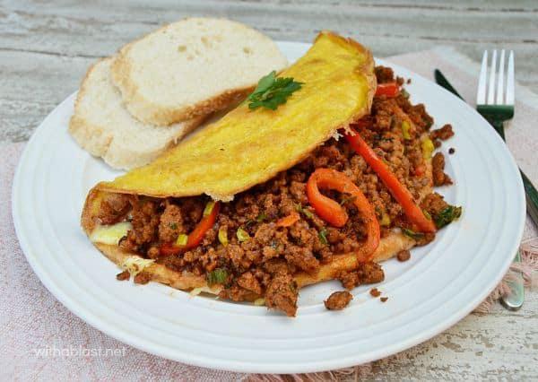 Loaded Breakfast Omelette