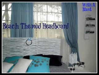 Beach Themed Headboard