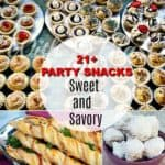 21+ Party Snacks (Sweet and Savory)