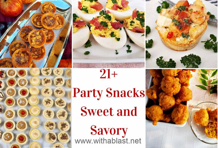 Party Snacks (Sweet and Savory)