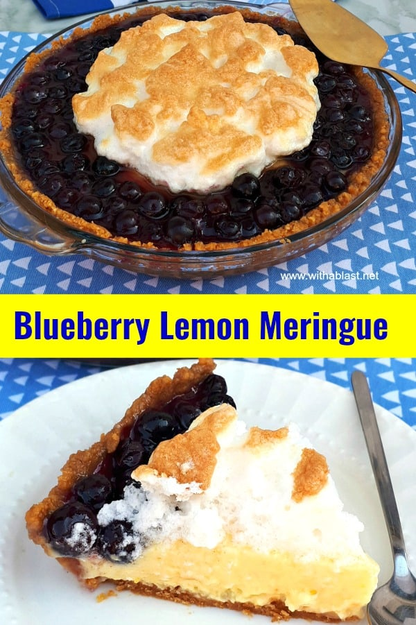 Blueberry Lemon Meringue