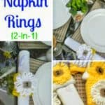 Brunch Napkin Rings {2-in-1}