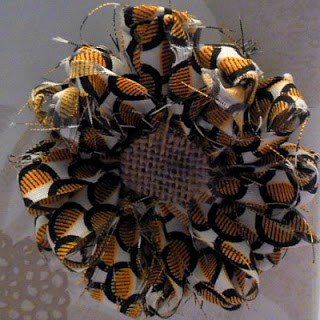 Loom Fabric Flower