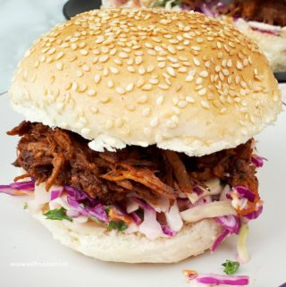 BBQ Pulled Beef Sandwiches (Slow-Cooker)