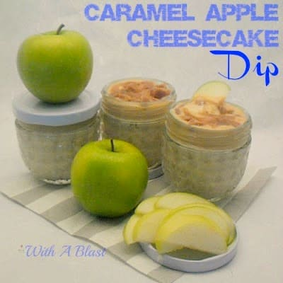 Caramel Apple Cheesecake Dip ~ Winning combo & No-Bake ~ Caramel & Cheesecake - this dip is delicious and so quick to make #Dip #FruitDip