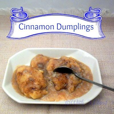 With A Blast: Cinnamon Dumplings    #dessert #cinnamon #dumplingrecipe