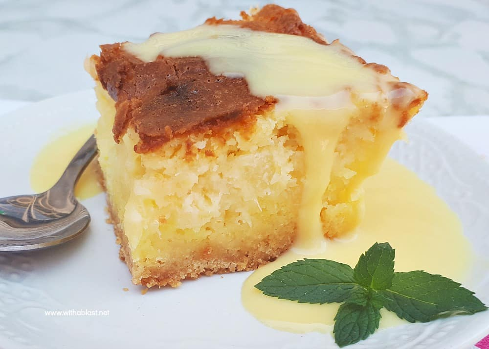 Gooey Coconut Pineapple Butter Cake is a moist, delicious cake and no need for frosting. Easy cake starting with a cake mix and with cream cheese too!