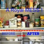 Kitchen Cabinets Organized !