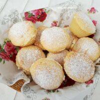 Strawberry Jam Cheesecake Muffins
