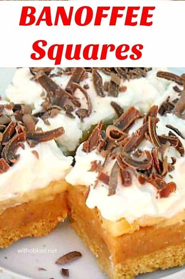 Banoffee Squares