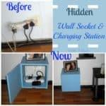 Hidden Wall Socket